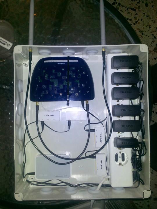 Εγκατάσταση ασύρματου internet σε ενοικιαζόμενα δωμάτια στην Παραλία Κατερίνης