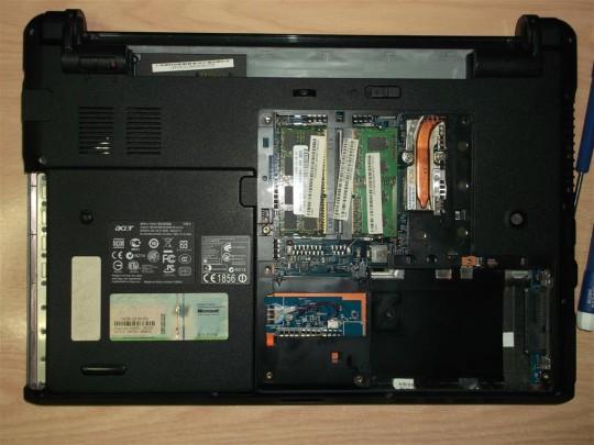 Καθαρισμός laptop